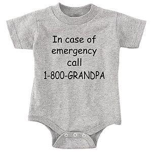 Grandpa baby one piece