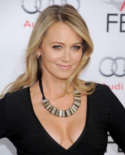 Christine Taylor attends AFI FEST 2013. #Hair by Cervando Maldonado. #Makeup by Monika Blunder.