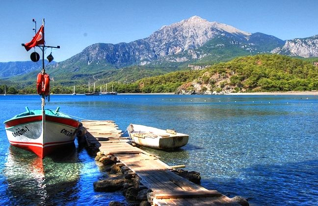 14 Beautiful Places of Turkey to Visit in 2015  Beaches and Ancient Ruins at Phaselis