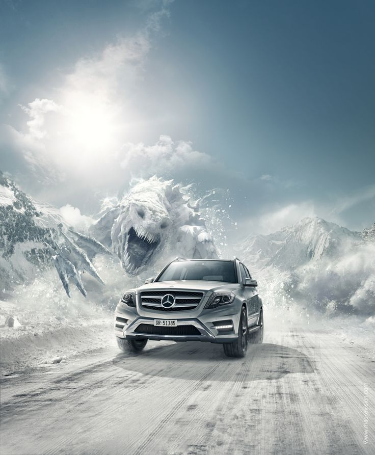 Mercedes-Benz Snow Monster on Behance