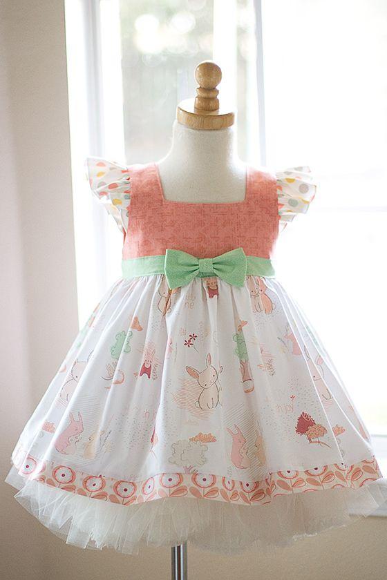 Sweet Bunny Dress - Kinder Kouture #kinderkouture #easter #kidsfashion