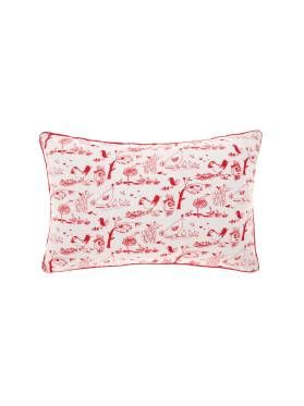 Kids Barkly Printed Cushion from Linen House's Hiccups range, available at Forty Winks.