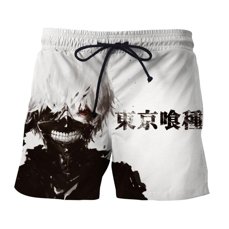 Tokyo Ghoul Anime Mythic Ken Kaneki Black And White Shorts — Konoha Stuff #TokyoGhoul #Anime #Mythic #KenKaneki #Shorts #Konoha