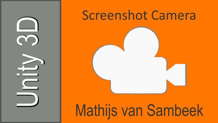 "Unity Tutorial - High-Res Screenshot Camera (C#) ""L"" - screenshot, zapisuje folder wyżej"