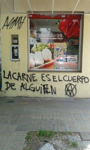 grafitti  vegano