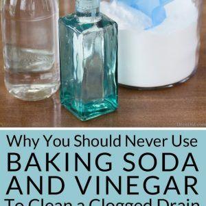 Clogged Bathtub Baking Soda Vinegar