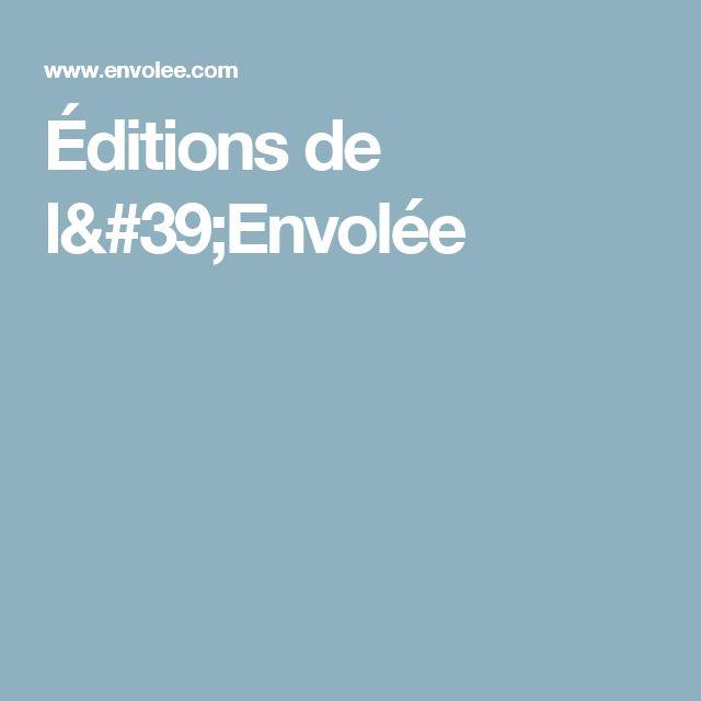 Éditions de l'Envolée