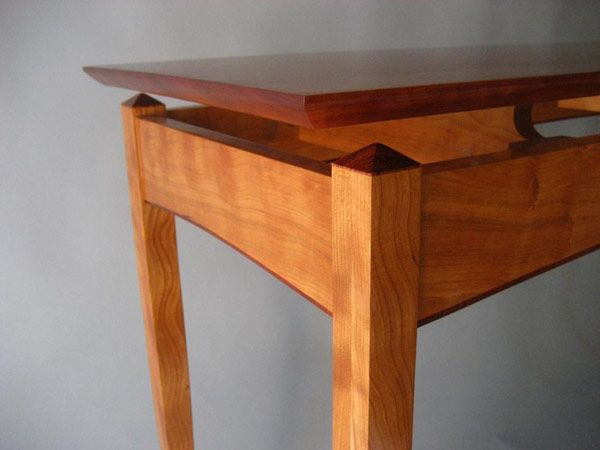 Perfect Curly Maple Desk  FineWoodworking