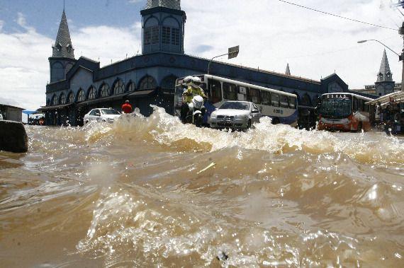 Maré alta pode ocasionar alagamentos em Belém e Mosqueiro