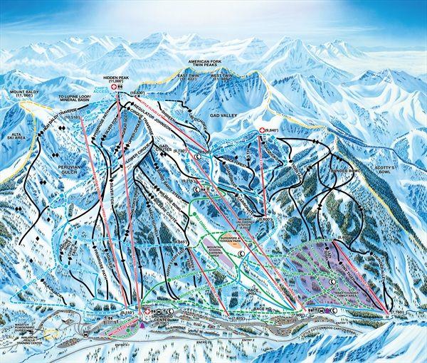 Snowbird Utah - looking forward to an awesome ski season!!!