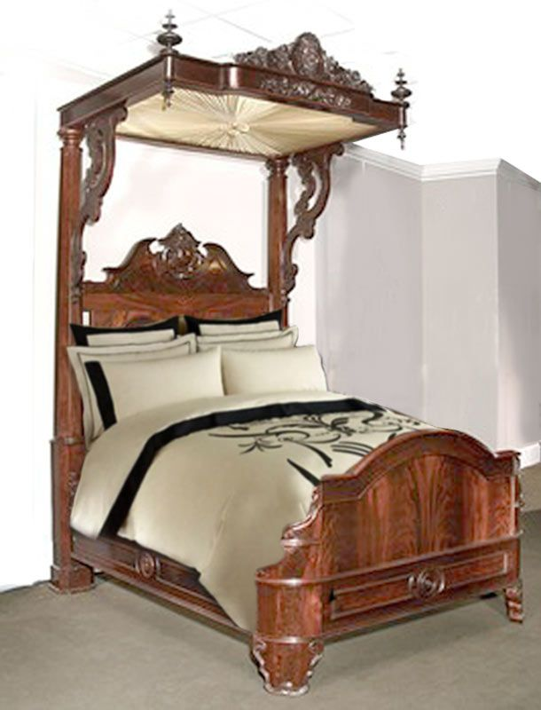 The Best Ideas About Victorian Bed On Pinterest Victorian