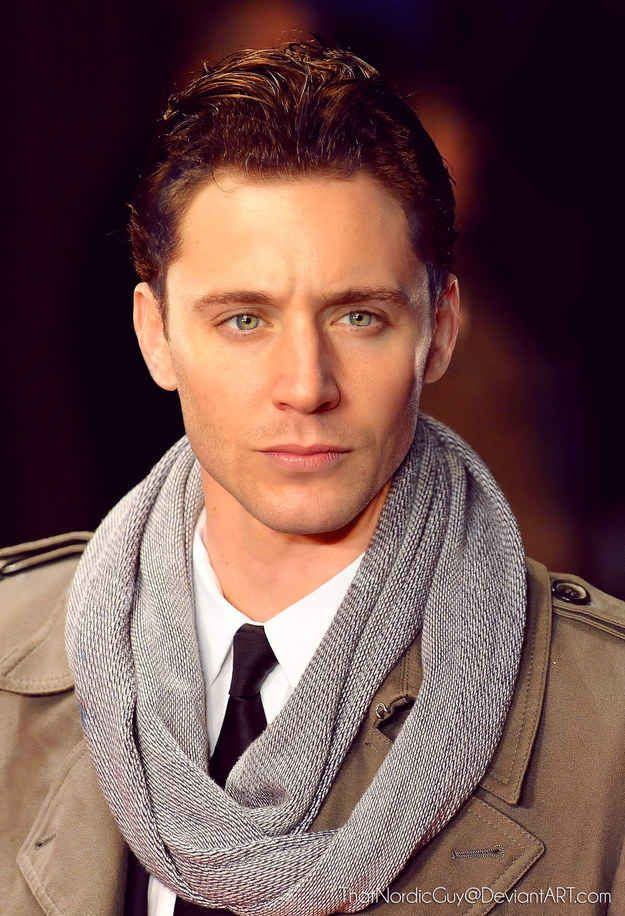 Jensen Ackles / Tom Hiddleston morphed into one perfect delectable man.❤️