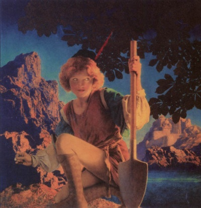 Maxfield Parrish - Myths and Fairytales