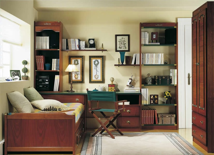 Librerias Dormitorio Juvenil Barco Java