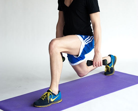 4 Ways to Do a Front Lunge Exercise - wikiHow