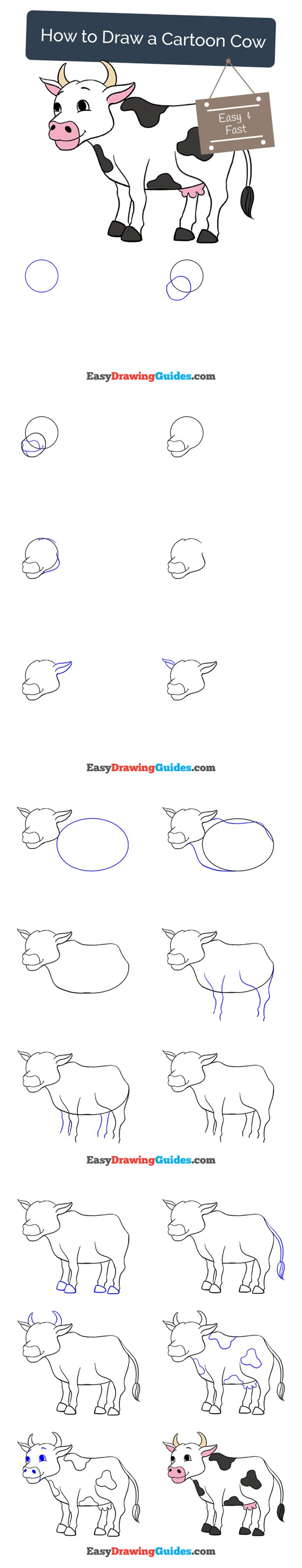 best 25 cartoon cow ideas on pinterest cow drawing cow drawing
