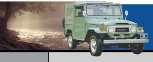 Toyota Landcruiser old style