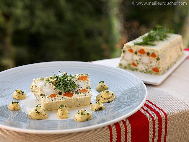 Terrine de lotte aux petits légumes - Meilleur du Chef