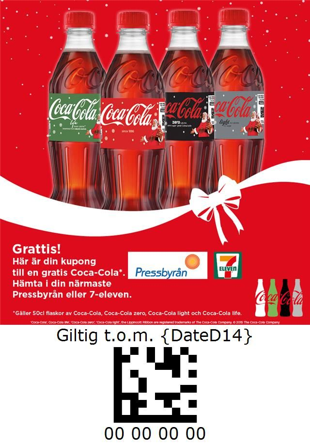Coca-Cola - Pressbyrån and 7-Eleven - Sweden