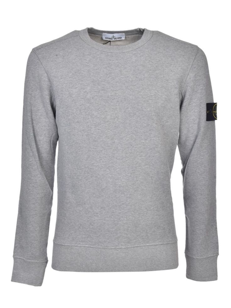 STONE ISLAND Stone Island Logo Patch Sweatshirt. #stoneisland #cloth #