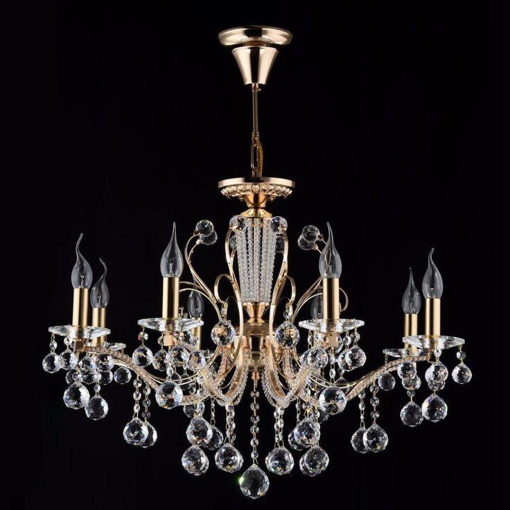 Diamant crystal kronleuchter marlin gold kronleuchter klassisch kristall