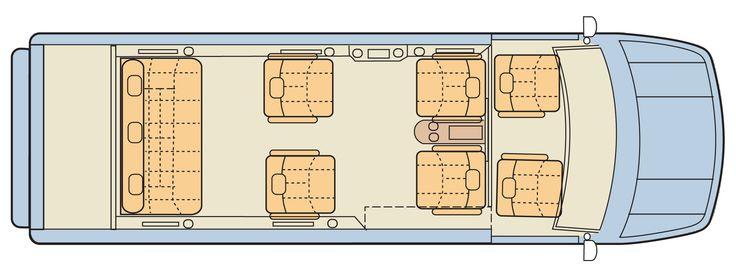 Mercedes Benz Conversion Van Floor Plans