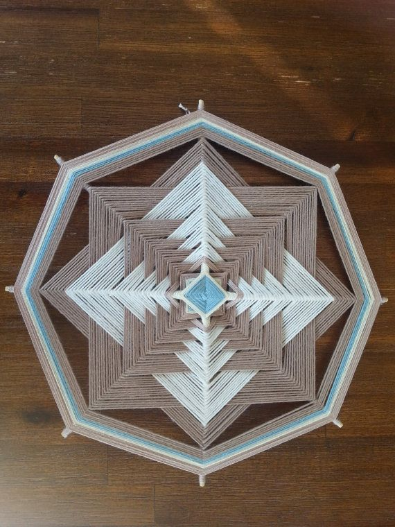 Simplicity Mandala  24cm/ 8 sides by MandalasofLight on Etsy