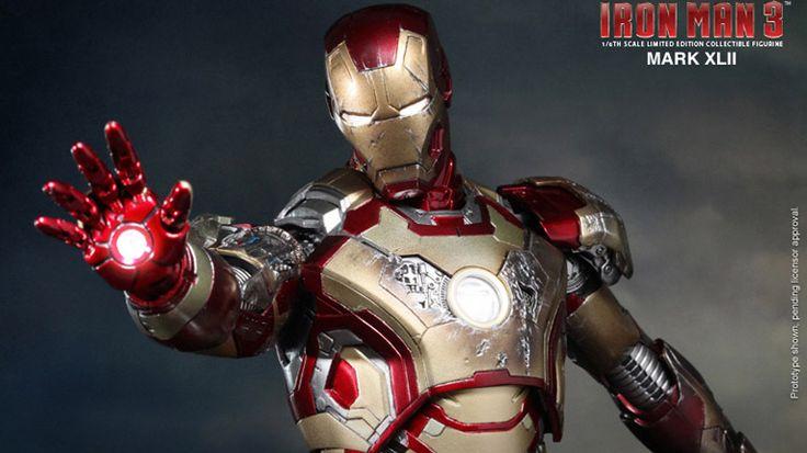 Mark XLII Masterpiece dari Hot Toys, Sambut Film Iron Man 3