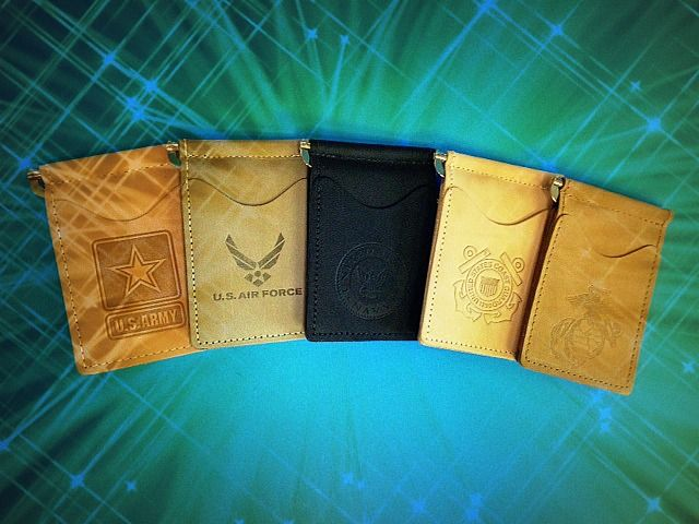 Visit WWW.TPKGOLF.COM to get a free Military wallet made from the same leather used on the Military combat boots! Its a Military BOGO! Offer good only on military wallets, any branch. Valid through May 31, 2014