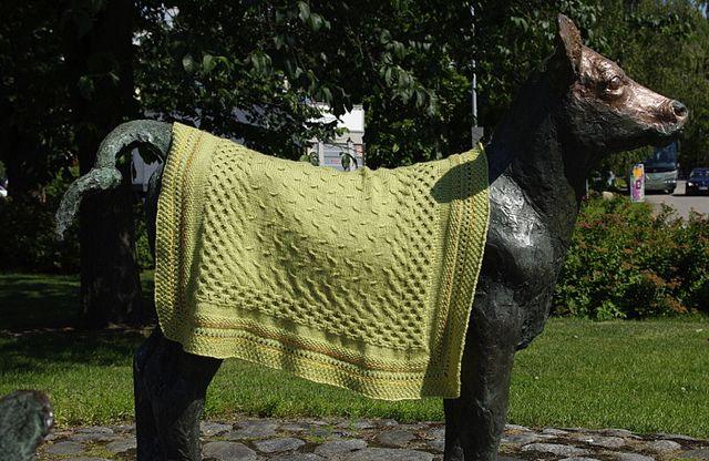Eelis baby blanket pattern by Sanna Hyvönen / Sudrana.