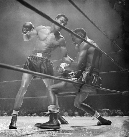 """""""To be a champ you have to believe in yourself when no one else will."""" • Sugar Ray Robinson"""