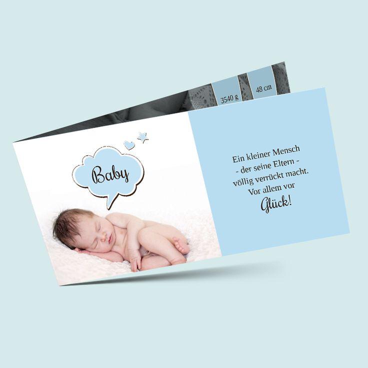 94 besten babykarten geburtskarten selber gestalten. Black Bedroom Furniture Sets. Home Design Ideas