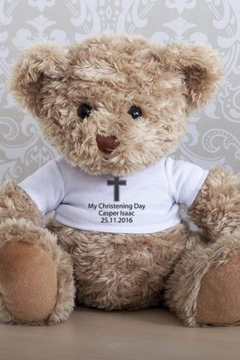 Personalised Christening Teddy Bear 220x330 The best christening gift ideas