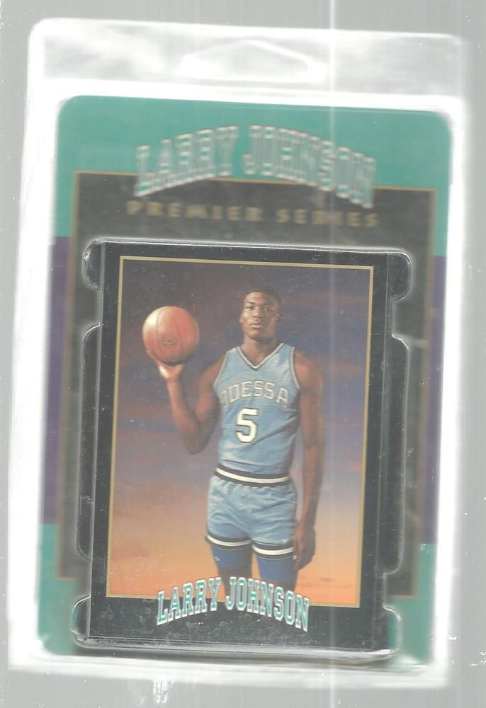 1991 Smokeys Premier Larry Johnson Basketball Card Set Sealed 7 Cards #3218  #Odessa
