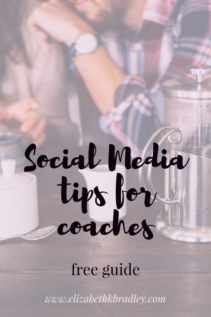 social media tips for Life & Health Coaches