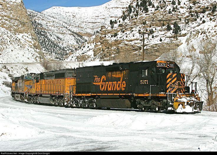 Photo DRGW 5371 Denver & Rio Grande