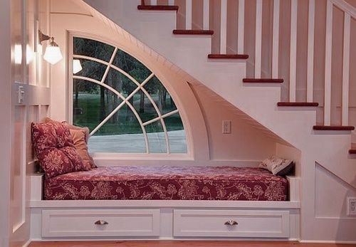 Possibly the cutest window-seat ever.