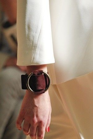 Celine : 2012SS Suede Leather Cuff   Sumally