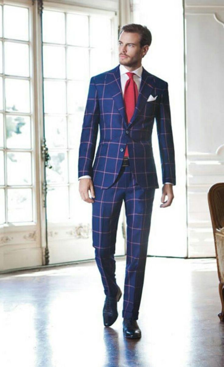 Exquisite-Window Pane. I'm in luv with this suit. Santa Claus!!!:)