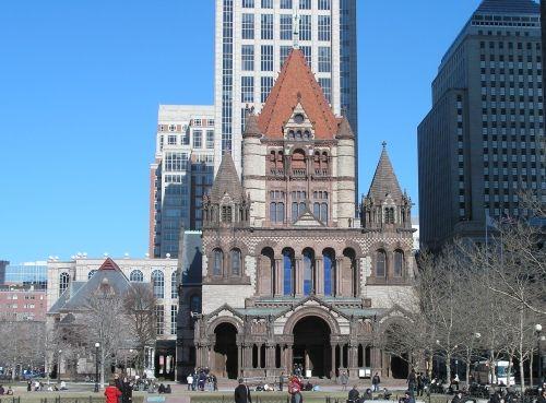 Trinity Church 1877 - my favorite building in Boston, MA