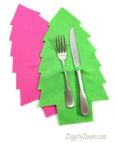 Christmas tree craft place setting #kids #craft #christmas #tree #holiday #diy #easy #table #decoration