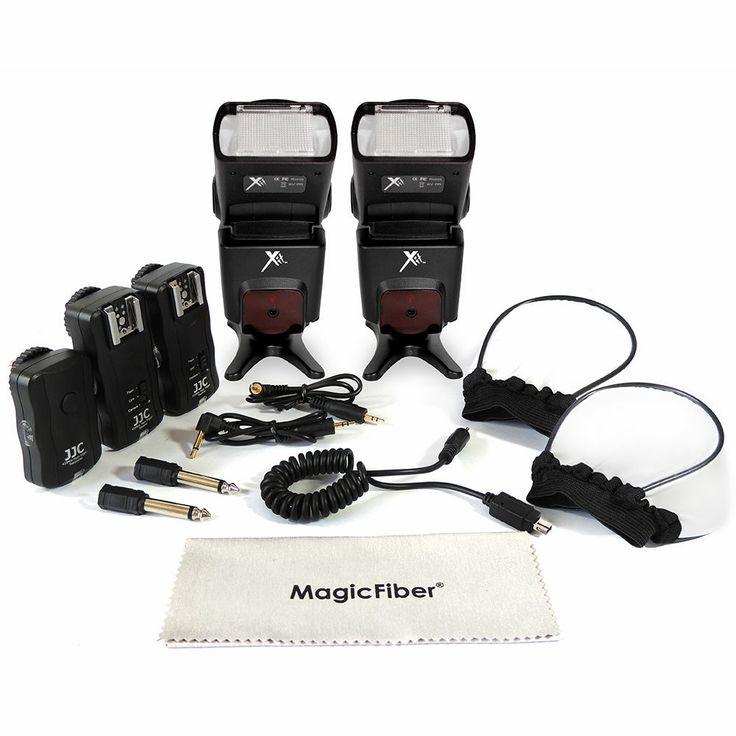 Professional Dedicated Flash Kit for NIKON D7100 D7000 D5200 D5100 D3200 D3100 #Nikon