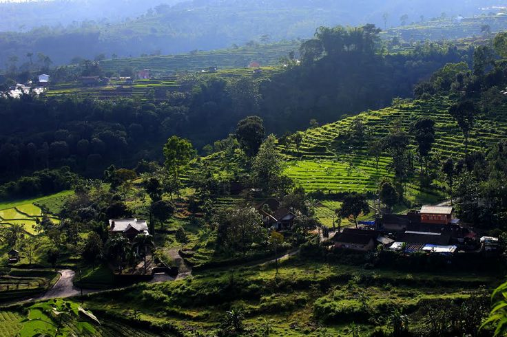 Village at Pacet, Mojokerto, Indonesia