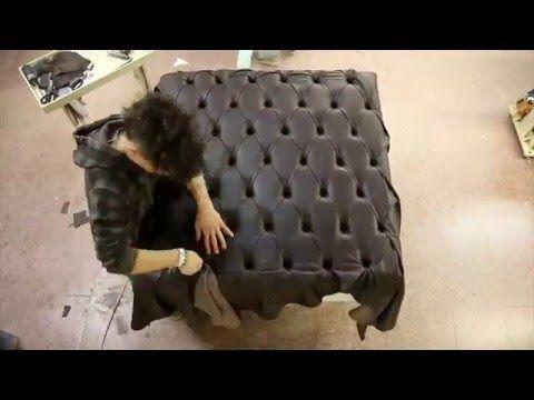 Capitonnè: Capolavoro di artigianato in pelle - YouTube