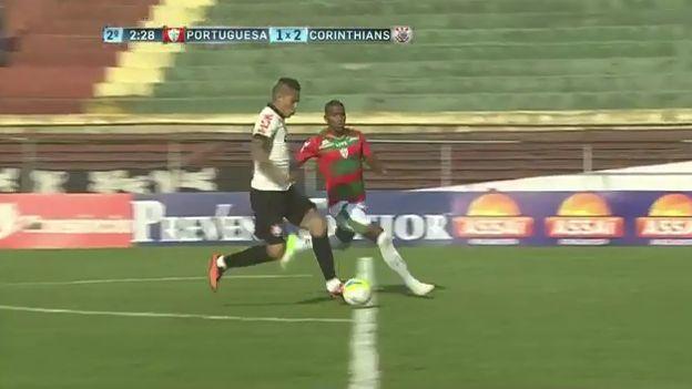 Paolo Guerrero se falló gol solo ante arquero de Portuguesa por el Paulistao (VIDEO) #Depor