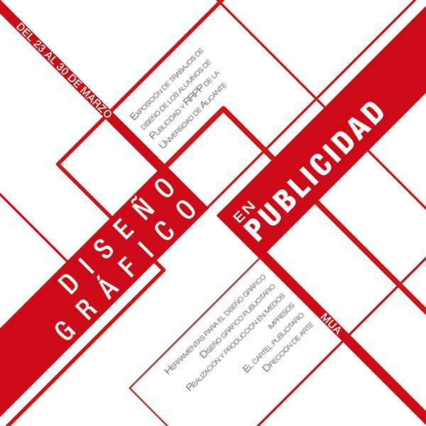 Etapas para el diseño de un cartel por Alicia Úbeda