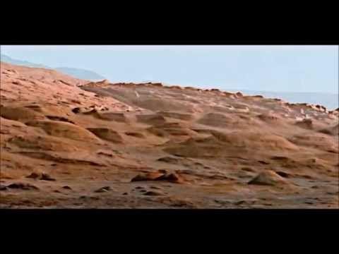 Video real de marte enviado por la nave curiosity
