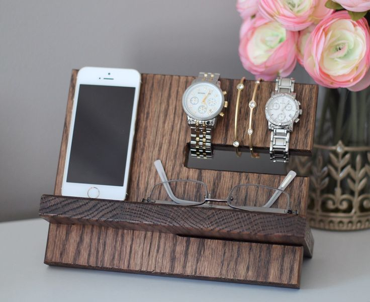 We are proud to offer a premium version of a desktop or nightstand valet to hold your valuables by your side. Our valets are sourced, assembled, stained, and finished by our two hands- NOT by a machine. Our Valets are made from premium solid oak, walnut, zebra wood, cherry, or purple heart, and can provide locally reclaimed wood for special requests. These are NOT made by machine and cheap plywood, they are made by 100% natural wood by our two hands. For more on our process and materials…