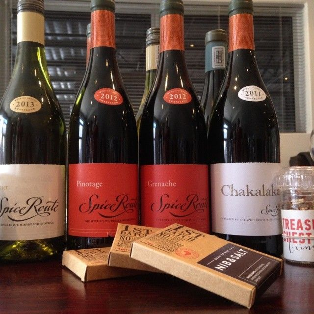 So much wine and chocolate!