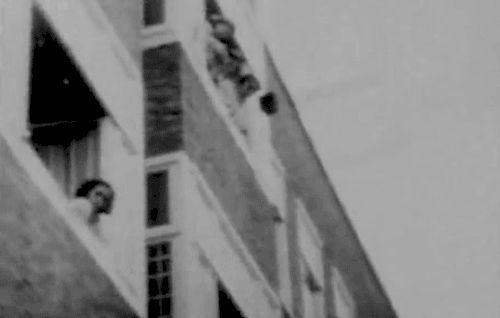The only known video footage of Anne Frank